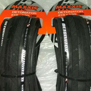 100%NEW MAXXIS DETONATOR 27.5x1.5 TIRES