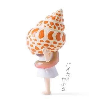 日本正品 單售貝殼女孩轉蛋扭蛋 熊貓之穴