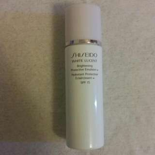 PRICE DROP: Shiseido White Lucent - Brightening Protective Emulsion SPF 15