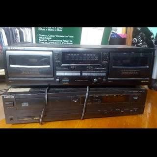 CD Player // Cassette Player And Recorder