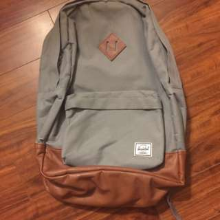 Hershel Grey Backpack