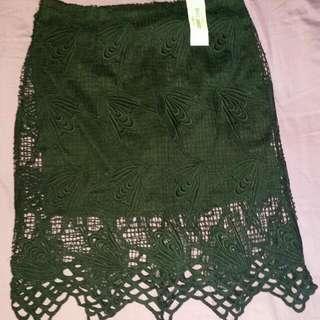 Crochet Style skirt