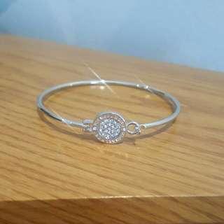 Michael Kors Silver Bracelet with diamonds