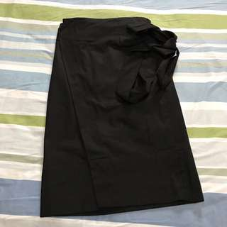 Chicify Cotton Wrap skirt