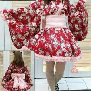 Body line Kimono