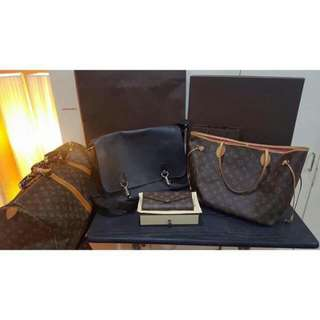 Original Louis Vuitton Bags.