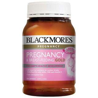 Blackmores Pregnancy & Breast-Feeding Formula Gold (180 Capsules)