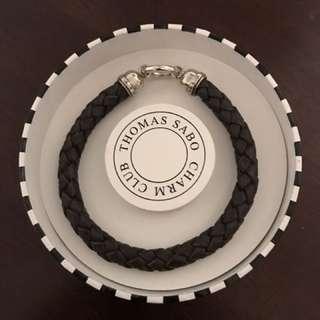 BNIB Thomas Sabo Men's Leather Bracelet