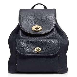 💯 Coach Mini Turn lock Rucksack Backpack