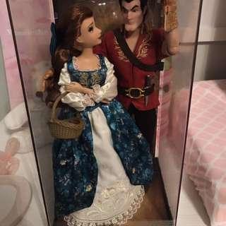 Limited edition Disney Designer Doll - Belle & Gaston