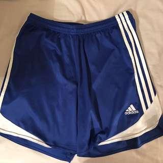 Adidas Blue Soccer Shorts