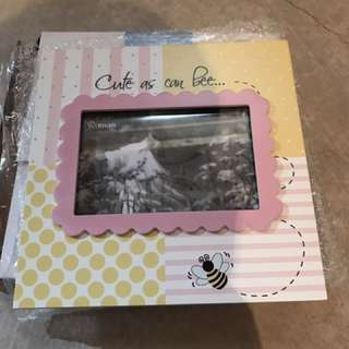 """""""cute As Can Bee"""" Picture Frame"""