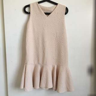 Short Drop Waist Dress