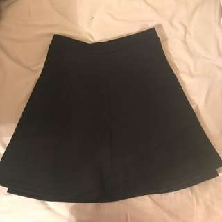 Lulu's Textured Skirt