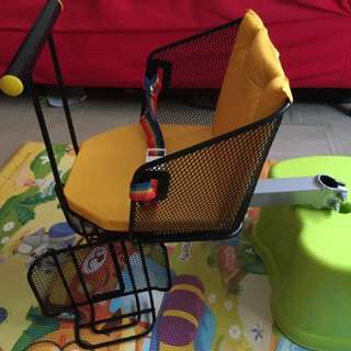 腳踏車寶寶椅