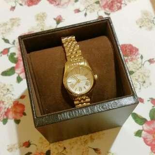 Michael Kors | Lexington Glitz Gold Watch