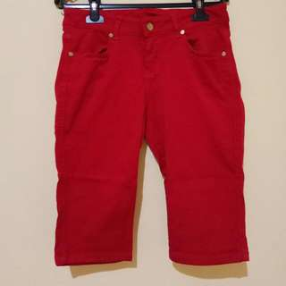 Preloved - Tory Burch Red Short Pants