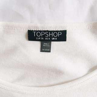 Topshop Crop Top