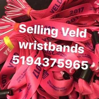 Veld Wristbands