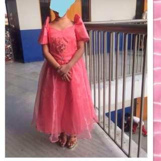 Filipiniana Gown