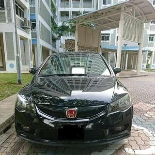 Honda Civic 1.8A Reg:25/11/2009