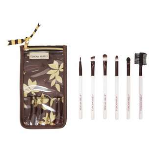 TUSCAN HILLS BRUSH SET WITH FREE TRAVEL POUCH
