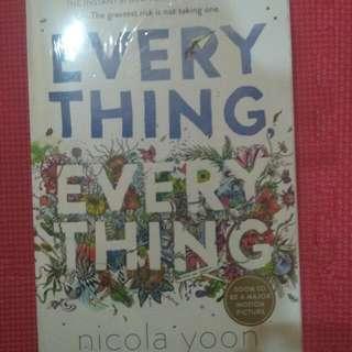 Free sepatu di lapak | Everything Everything by Nicola Yoon | New Book