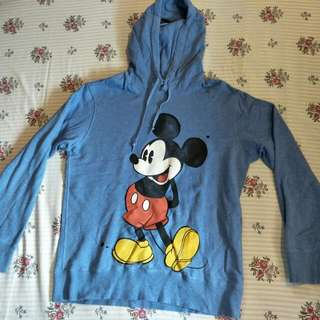 Mickey Mouse Uniqlo Hoodie (XL)