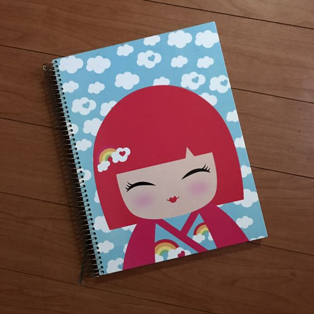 11.8 x 9 Inches Spring Notebook