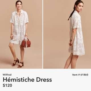 Wilfred Hemistiche Dress