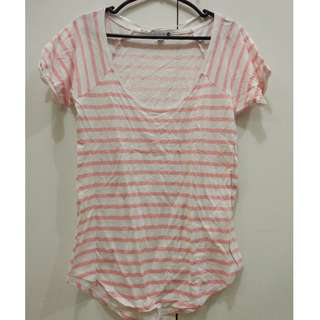 Cotton On Pink Striped Shirt