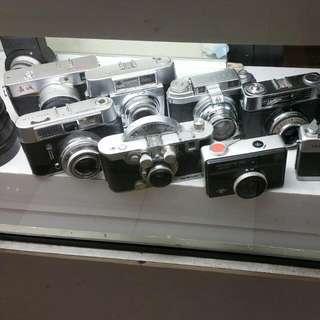 Lots Of Range Finder Cameras For Sale...yashica, Voightlander ,Zeiss Ikon,afga,Kodak. ..prices From $65-$150