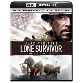 🆕 Lone Survivor 4K UHD + Blu Ray