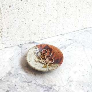 Stoneware Ring Tray