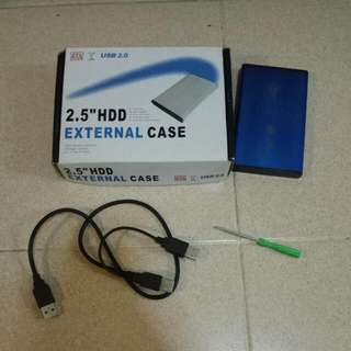 2.5'' HDD External Case USB 2.0