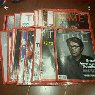 2013-2014 時代雜誌 time 英文