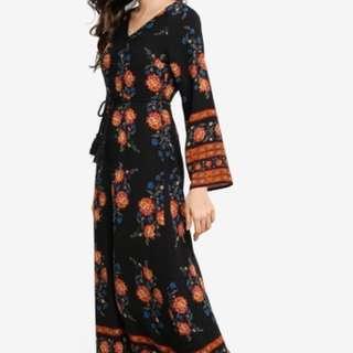 NWT Zalia Floral Dress