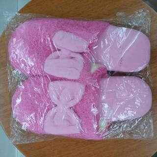 【New 全新】毛毛 pink  sleepers   #11flashsale