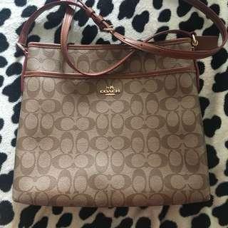 Coach Sling Bag / File Bag