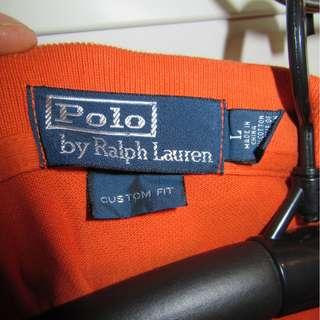 POLO RALPH LAUREN LONG SLEEVE SHIRT SIZE LARGE
