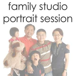 Family Studio Portrait Photography