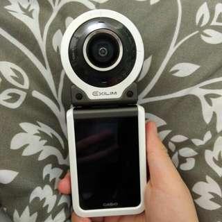 Casio FR100 翻轉相機 分離式相機 美肌相機 運動相機