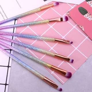 BN 6-Piece Unicorn Rainbow Brush Set