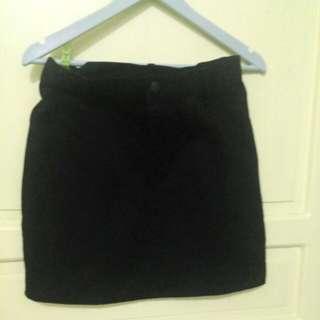Preloved Maong Skirt
