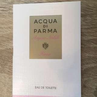Acqua di Parma Rosa 0.04 oz針管香