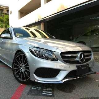 Mercedes C250 AMG (2015 UNREG)