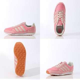 adidas 粉紅 運動鞋 愛迪達