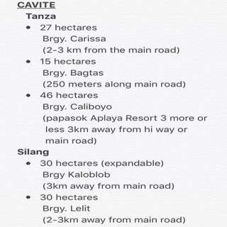 """CAVITE """"For Sale"""""""