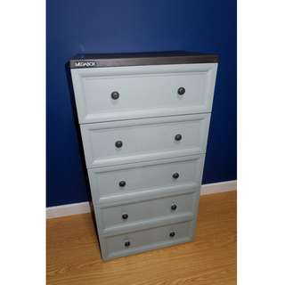 Megabox Cabinet with 5 Drawers