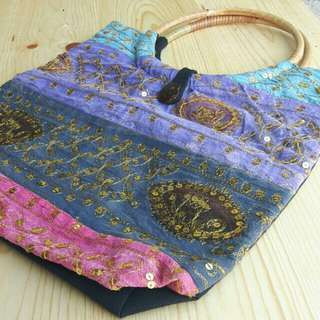 Beautiful Thailand Embroidery Bag